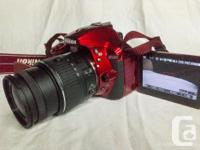 I am selling a used Nikon D5300 Camera with