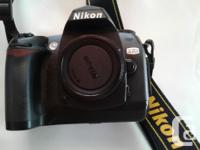NIKON D70 Camera with Lens and Accessories: Complete