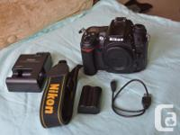 I recently upgraded, so I'm selling my D7000 camera