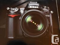 Nikon D7000. Precursor to the D7100 D7200 and D7500. I