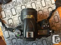 Used Nikon D7000 with Nikon MB-D11 battery grip and