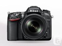 Nikon D7100. The D7100 DSLR Camera from Nikon is a high