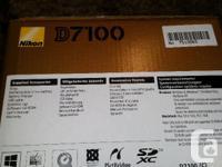 Nikon I am selling my Nikon D7100 camera body along for sale  Quebec