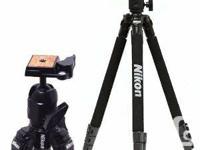 Hi,   I have a Nikon DSLR-1 Tripod with HEAD with