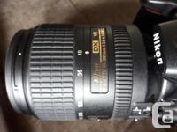 Nikon D5000 body DX-AF S Nikkor 18-300 mm 1:3.5-6.3 G