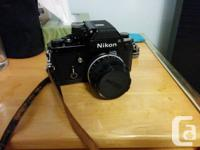 This Nikon F2 is in great condition, gently used.