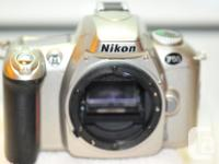 Nikon F55 35 mm SLR film camera. One of the lightest,