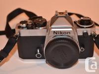 Nikon FE manual film camera �
