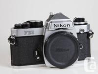 1.Nikon FE2 Titian shutter----------$175 2.Nikon