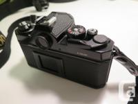 Lightly used, excellent condition Nikon FM-2 body and
