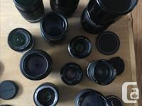 All lenses compatible with all modern Nikon DSLR's and