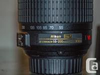 Marketing my Nikon zoom lens. Can toss in a 50mm 1.8 D, used for sale  Manitoba