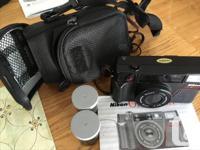 NIKON ONE TOUCH CAMERA 35 mm compact camera Manual,