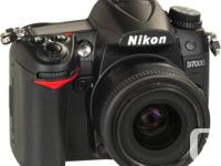 Immaculate Nikon D7000 physical body with 36731 shutter for sale  British Columbia