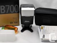 Selling a great SB700 flash for your Nikon DSLR, in