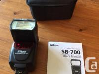 Nikon Speedlight SB700 AF Shoe Mount Flash for Nikon