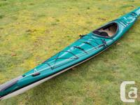 I'm selling a Nimbus Lootas Single Kayak with a paddle