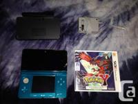 I have a superb disorder blue 3DS available for sale.