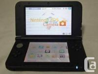I am selling a Nintendo 3DS XL Black gaming console