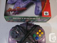I have a Nintendo 64 Atomic Purple controller in box