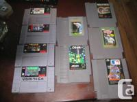 nes and snes games lee trivinos fighting golf $8  jack