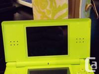 Green Nintendo DS Lite 2 Stylus and cloth Carrying