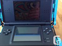 Up for grabs is a cobalt blue Ni to do DS lite. It