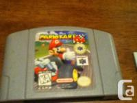 Selling Mariokart games that(discs/cartridges) are in