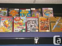 Item: We have many different Nintendo games to choose
