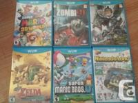 Nintendo Wii U 32 GB, barely used. Includes the