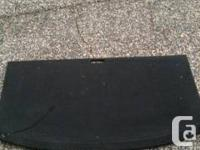 Nissan 240 sx trunk cover like new.   Black.   $100.00