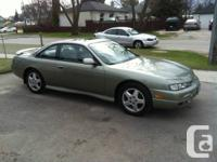 Selling my 240sx, one owner, older woman from BC used