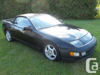 """Nissan 300ZX Convertible 1993,""""triple black"""", aut.,"""