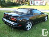 """- Nissan 300ZX Convertible 1993,""""triple black"""", aut.,"""