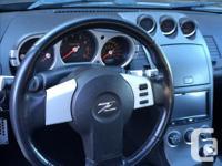 Make Nissan Model 350Z Year 2003 Colour Black kms