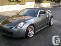 Nissan 350Z Roadster. Hardly used in excellent