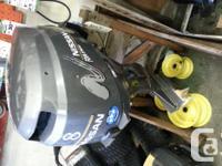 Nissan 8hp Outboard Motor -great little kicker -about