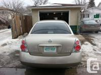 Make Nissan Model Altima Year 2005 Colour Brown kms
