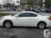 Make Nissan Model Altima Year 2008 Colour white kms