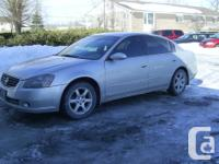 2006 Nissan Altima S 2.5 L - 4Dr Automatic. Completely