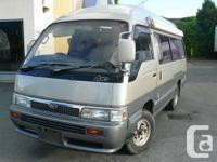 Nissan Camper van with 2.7 Turbo diesel engine 4 cyl ,