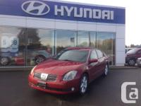 Make. Nissan. Model. Maxima. Year. 2004. Colour. Red.