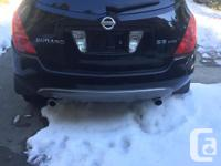 Make Nissan Model Murano Year 2003 Colour Black kms