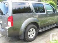 Make Nissan Model Pathfinder Year 2007 Colour grey kms