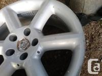 2003 Nissan 350 z rims 18 inch Don't know bolt pattern