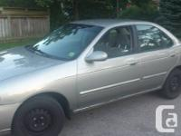 Selling As Is.  Great gas savings car.  It has a chain