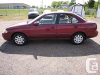 Make Nissan Model Sentra Year 2002 Colour WINE kms