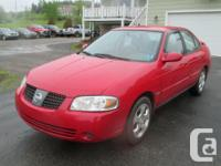 Make. Nissan. Design. Sentra. Year. 2005. Colour. Red.