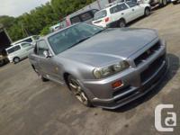 Make. Nissan. Model. GT-R. Year. 1999. Colour. WHITE.
