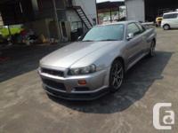 Make. Nissan. Model. GT-R. Year. 1999. Colour. GREY.